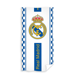 Toalla de playa Real Madrid 70x140 cm 100% algodón