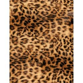 Fouta estampado gigante 210x240 cm 100% algodón , estampación 4D   piel de leopardo