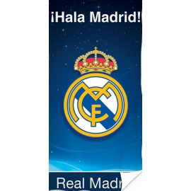 Toalla playa Real Madrid 70x140 cm 100% polyester