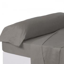 Funda de almohada 100% algodón 45x 110 color grafito