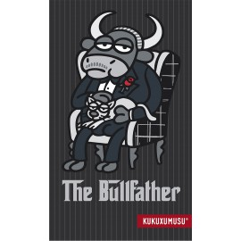 Toalla estampada de playa Kukuxumusu The Bullfather